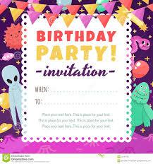 Invitacion Divertida Y Linda De La Fiesta De Cumpleanos Del