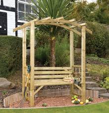 grange romana arbour wooden garden