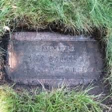 Ada Walker Bartlett (1865-1899) - Find A Grave Memorial