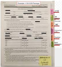 k 1 fiance e visa affidavit of