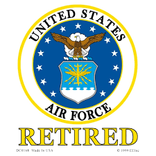 Shop Us Air Force Emblem Retired Car Decal Overstock 20855450