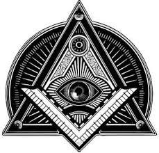 Masonic Illuminati Eye Symbol Vinyl Sticker Decal For Car Laptop Window Ebay