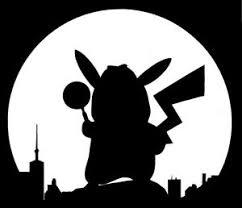 Detective Pikachu Pokemon Sticker Decal Ebay