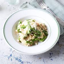 Crab And Asparagus Risotto