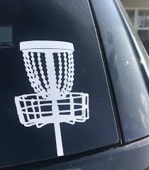 Disc Golf Decal In 2020 Disc Golf Golf Sport Woods Golf
