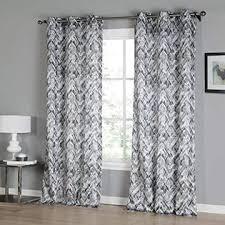 Kensie Kensie Neila Grommet Top Window Curtain Drapes For Bedroom Livingroom Kids Room Children Nursery Assorted