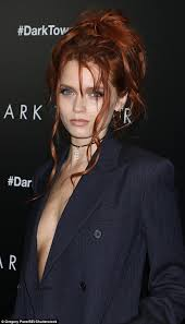 Abbey Lee Kershaw braless in New York | Daily Mail Online