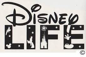 Large Vinyl Decal Disney Life Black Disney Decals Disney Wall Decals Cricut Projects Vinyl