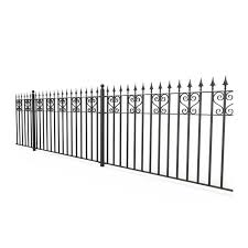 China Ornamental Wrought Iron Fence Manufacturers Suppliers Factory Direct Wholesale Sinostar