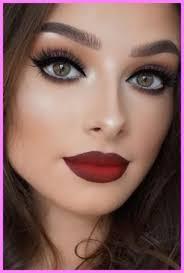 prom makeup ideas for black dress
