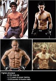 the three levels of aesthetic physiques