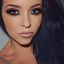 hot smokey eye makeup cat eye makeup