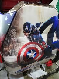 Side Car Wrap Captain America Concept John S Grafix Decals Stickers Wrap Logo Design Facebook