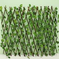 Expandable Artificial Ivy Leaf Fence Decor Privacy Screen Patio Yard Garden For Sale Online Ebay