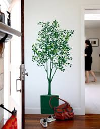 Olive Tree Wall Decal Vinyl Tree Wall Decal Tree Wall Stickers