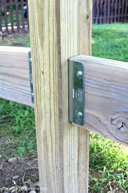 Diy Split Rail Fence With Simpson Strong Tie Connectors Jaime Costiglio