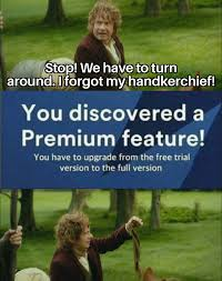 Free to play is what Bilbo Baggins hates : Hobbit_Memes