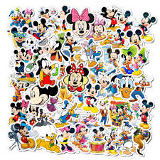 50pcs Cartoon Disney Mickey Mouse Stickers Don Graffiti Laptop Skateboard Luggage Guitar Bicycle Children Diy Decal Sticker Stickers Aliexpress