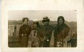 In Kamiah Idaho, L-R No 3.Rosa Johnson No.4 Julia Carter other two ...