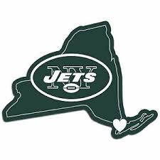 Nfl New York Ny Jets Home State Auto Car Window Vinyl Decal Sticker 754603668265 Ebay