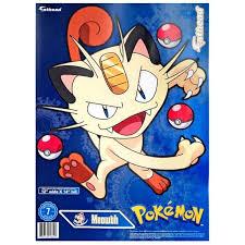 Pokemon Meowth Vinyl Decals Walmart Com Walmart Com