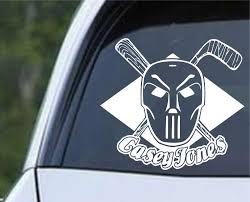 Teenage Mutant Ninja Turtles Tmnt Casey Jones Die Cut Vinyl Decal St Decals City