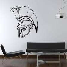 Spartan Army Helmet Removable Wall Stickers For Living Room Boys Vinyl Wallpaper Decals Bedroom Art Decoration Poster Shop Wall Decals Space Wall Decals From Onlinegame 12 21 Dhgate Com