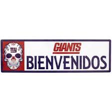 New York Giants Wall Decals Wall Decor The Home Depot