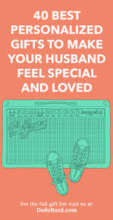 personalized gifts to make your husband