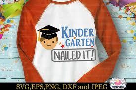 svg dxf eps png cutting files graduation kindergarten