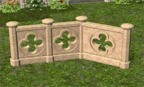 Medieval Gothic Fence Sims 2 Marina S Sims