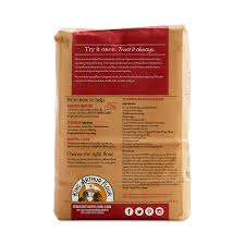 organic whole wheat flour by king
