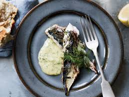 Rosemary-Grilled Mackerel with Mustard ...