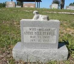 Addie Bell Christy Terrell (1908-1968) - Find A Grave Memorial