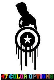 Truck Tuner Car Import Sticker Captain America Shield Decal Jdm Outlet Tesaturi Ro