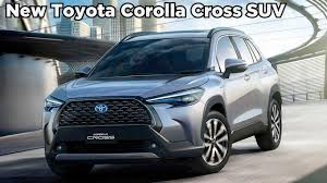 New 2021 Toyota Corolla Cross SUV - Interior, Exterior - YouTube
