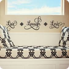 Live Laugh Love Wall Decal Quote Wall Written