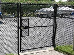 Black Chain Link Fence Gates Chain Link Fence Gate Fence Gate Black Chain Link Fence