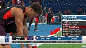 Washington cornerback Byron Murphy's 2019 NFL Scouting Combine workout