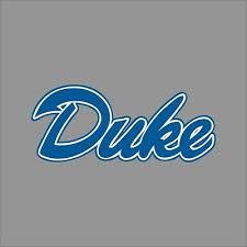 Duke Blue Devils 10 Ncaa College Vinyl Decal Sticker Car Window Wall Ebay