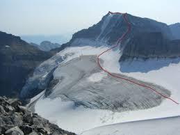 West Ridge of Mt Fay
