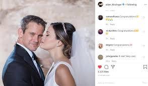 Congressman Adam Kinzinger marries Sofia Boza-Holman - News - Rockford  Register Star - Rockford, IL