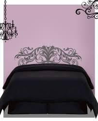 Glamour Headboard Wall Decal Sticker