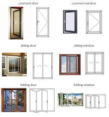 aluminium doors tempered glass