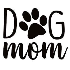 Dog Mom Window Decal Dog Mom Window Sticker 7532