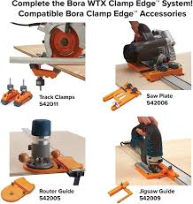 Bora Jigsaw Guide For Wtx Or Ngx Clamp Edge Use For Making Straight Cuts As A Steady Guide For Your Jigsaw Amazon Com