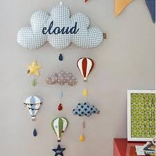 Wall Hanging Kids Room Decoration Clouds Style Grandma S Gift Shop