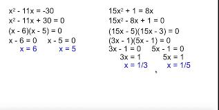 alg 2 4 3 solving quadratic equations