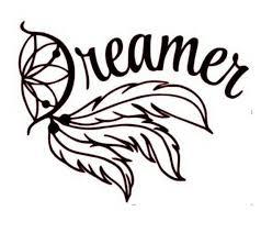 Dream Catcher Vinyl Decal Dreamer Vinyl Decal Wall Decal Dream Catcher Decal Cricut Vinyl