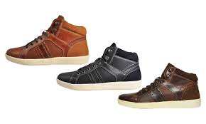 red tape men s leather boots groupon